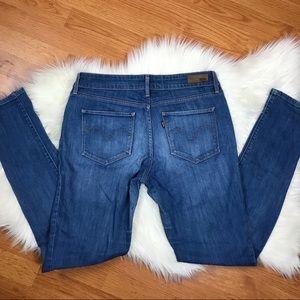 Jeans - Levi's Bold curve mid rise skinny 12/31